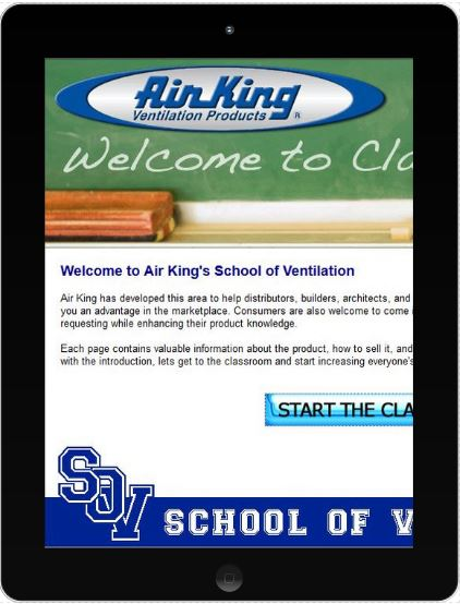 Air King E-Learning